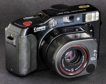 Canon SureShot Tele QD 35mm Camera w 40-70 f2.8 Soft Focus Lens Rangefinder Type NiCE !