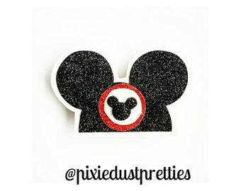 Mickey ears hat clip