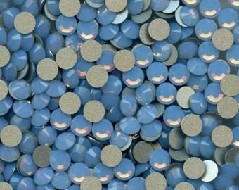 2028 SS20 ABO*** 30 Swarovski rhinestones flat back SS20 (4,7mm) air blue opal