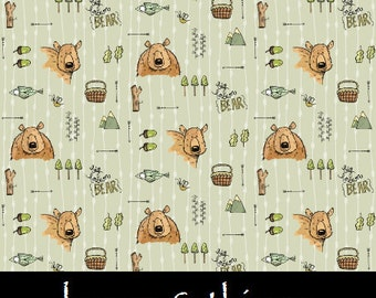 Bear Baby Bedding - Blankets and Separates - Hunting Baby Bedding