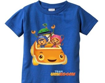 Team Umizoomi Custom  t-shirt - Colors