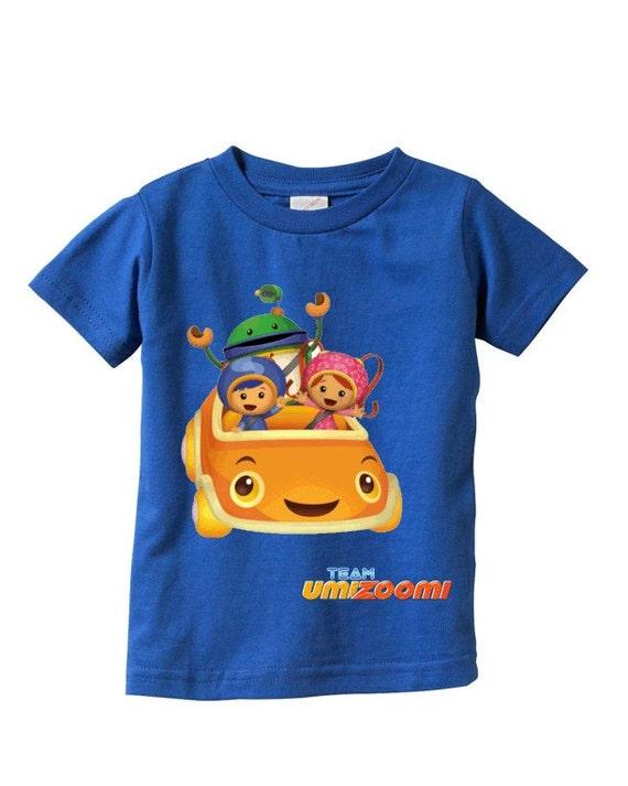 team umizoomi custom t shirt colors