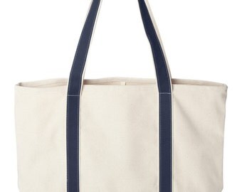 Custom Embroidered Personalized Tote Bag