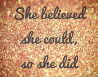 2 Cuffs: She Believed She Could/ SO SHE DID