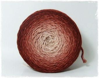 Coffeebreak* Gradient yarn Merino hand dyed - DK