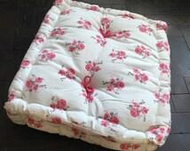 Handmade floor cushion, french mattress, pet cushion, children cushion,bench cushion, floor pillow Reduced