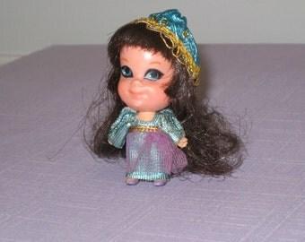 Vintage 1969 Mattel Liddle Kiddles Juliet Doll - Storybook Sweethearts