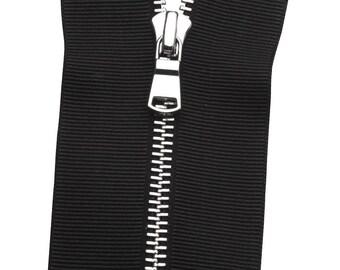 Metal No. 5 Grosgrain Zipper