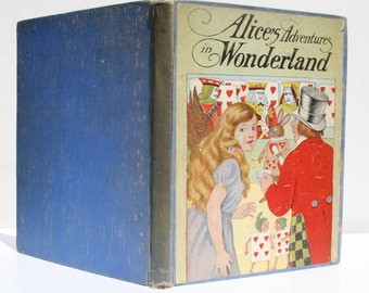 Alice's Adventures in Wonderland by Lewis Carroll - M.A. Donohue & Co. 1929