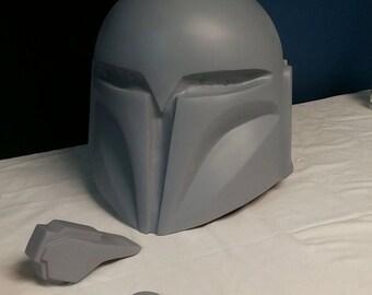 Mandalorian Nite Owl (Bo Katan) Helmet BLANK CAST
