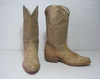 DINGO Cowboy Western Boots Size: 7.5 D Women's Shoes VINTAGE