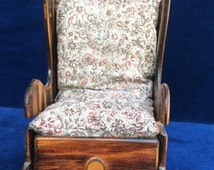 Vintage hand made rocking chair pin cushion