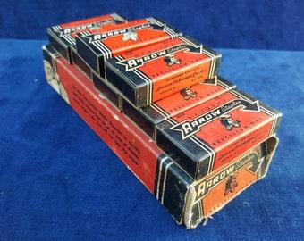Vintage Arrow staples No A-44 6 full boxes