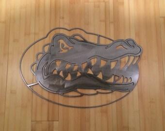 Florida Gators metal art