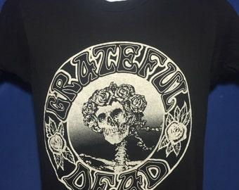 RARE Vintage 1981 Grateful Dead UC Berkeley greek theatre concert tour t shirt original 80s *S