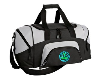 Volleyball Gym Bag - Personalized - Monogrammed - Embroidered - Sports Bag - Sports Gift - Volleyball Duffle Bag - BG99
