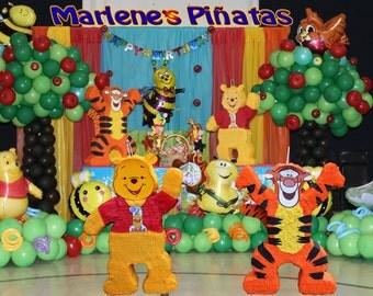 Winnie the pooh or Tigger pinatas..!