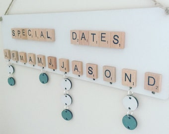 10x extra discs for special dates board