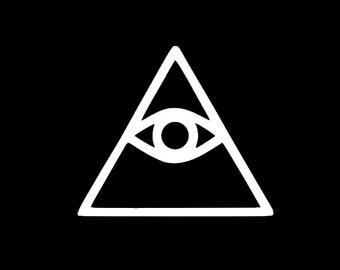Illuminati Custom Car Decal