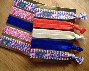 Gators inspired set of 5 ties