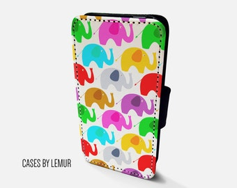 ELEPHANT Iphone 6 Wallet Case Leather Iphone 6 Case Leather Iphone 6 Flip Case Iphone 6 Leather Wallet Case Iphone 6 Leather Sleeve Cover