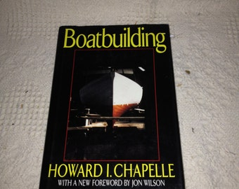 Boatbuilding by Howard Chapelle 1994 Hardcover