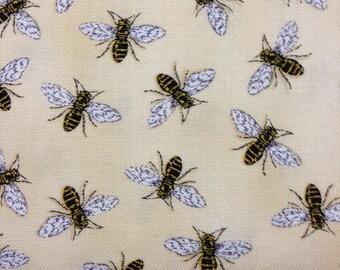 Bee Creative Bee Fabric by Deb Strain for Moda Honey Buzz 19756 11