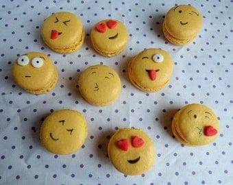 Emoji Macarons (box of 12)