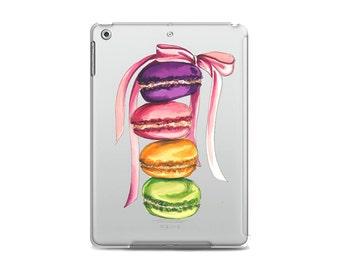 Macarons ipad case, Food ipad case, Cute ipad case, Macarons ipad cover, Food ipad cover, Macarons tablet case, Macarons ipad 4 case