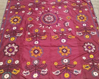 antique suzani for wall hanging fast shipping with fedex