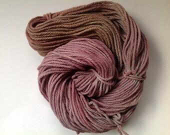 Sale yarn Hand dyed Bulky Merino Yarn  ~ Faded Bouquet