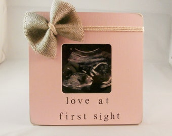 Love at first sight frame, first mothers day gifts for mom pregnant mom gifts
