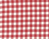 "Moda Quilt Fabric by the Yard, Volume II by Sweetwater, 5616 12, Red and White Checkered 44"" 100% Cotton Quilt Fabric"