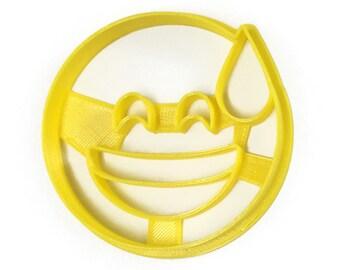Emoji Sweat Drop Big Smile Cookie Cutter
