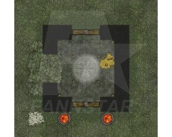 Watchorn Dungeon Secret Room Tabletop Gameboard Design