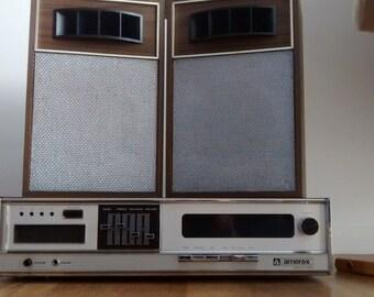 AMAREX 8th track stereo radio player 1960's