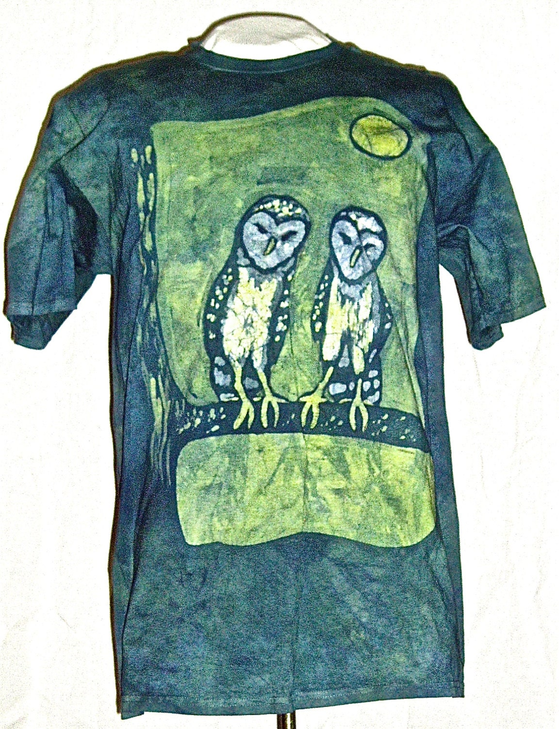 batik owl t shirt. Black Bedroom Furniture Sets. Home Design Ideas