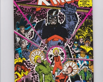 X-Men Annual #14 (1990) 1st Gambit appearance in cameo Marvel Comic