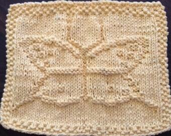Butterfly Dishcloth Pattern
