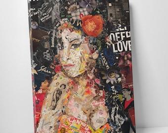 Ines Kouidis 'Amy' Gallery Wrapped Canvas Print