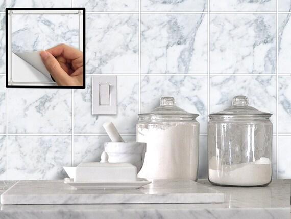 Badkamer badkamer tegel sticker : Keuken badkamer tegel stickers Vinyl ...