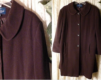 Vintage mackintosh wool coat – Etsy
