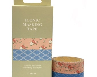 Washi Tape 1.5cmx5mx2pcs Iconic SM332528