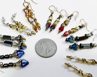 CUSTOM Sonic Screwdriver Earrings