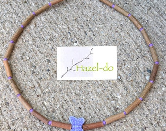 Hazelwood Butterfly Necklace, Choose your length & color!
