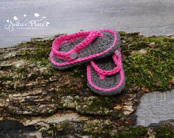 Crocheted Baby Sandals, Crocheted Baby Shoes, Knit Infant Sandals, Newborn Baby Shoes, Girl Baby Sandals, Newborn Girl Booties, Baby Booties