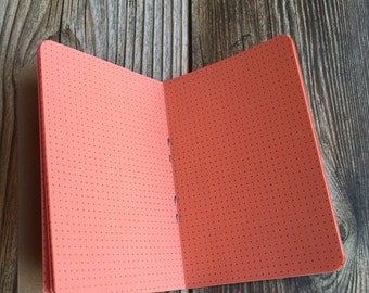 MICRO Traveler's Notebook Insert   - Choice of 22 colors