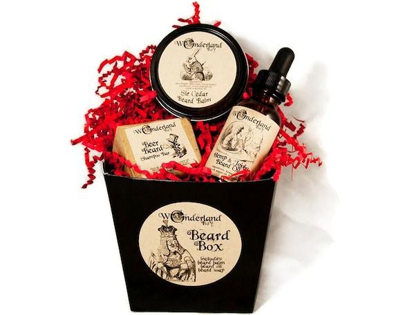 beard grooming gift box valentine gift beard gift set. Black Bedroom Furniture Sets. Home Design Ideas