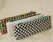 SALE Handmade Pencil Pouch