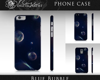 Blue Bubble - Phone Case - iPhone & Samsung Galaxy